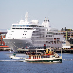 MS Regatta cruise ship makes stop in Rockland