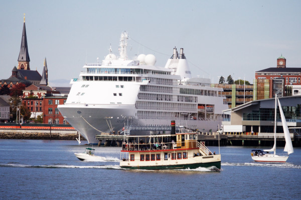 Bar Harbor Misses Mark But Portland Sets Cruise Ship Record - Portland maine cruise ship terminal