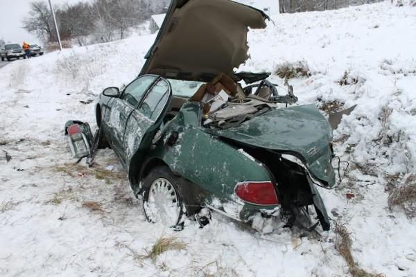Sunday Car Accident Portland