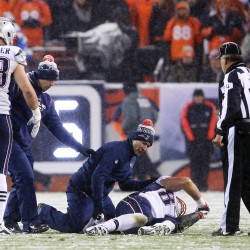 Pats' Gronkowski out for season after blow to knee; Maine native Mulligan may have expanded role