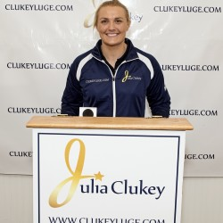 Augusta luger Julia Clukey to continue competing at least one more season