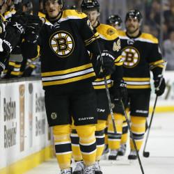 Minnesota beats Bruins in shootout