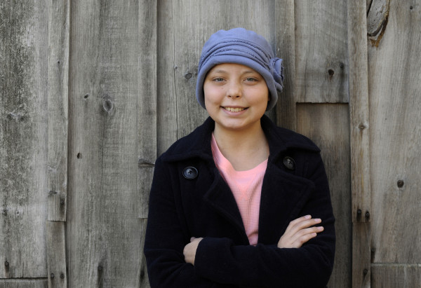 Katherine Bowen, 13, was diagnosed with T-cell acute lymphoblastic leukemia on March 16, 2015.