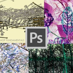Art produced and/or manipulated in Adobe Photoshop