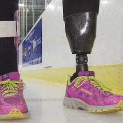 Lewiston veteran earns USA Hockey's Disabled Athlete of the Year award after doctors said she'd never play sports again