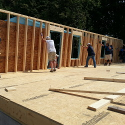 Habitat for Humanity is building single-family home in Hampden