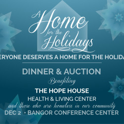 Benefit Dinner & Auction Dec. 2 to Support Hope House Health & Living Center