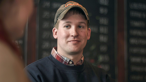 Ryan Crane of Exeter, named the 2016 young farmer of the year by the Maine Potato Board.