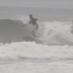 Surf's up in Kennebunk, even when temperatures aren't