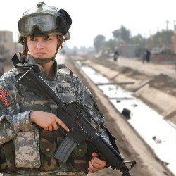 Combat women and Congress' wimps