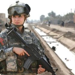 Combat women and Congress' wimps