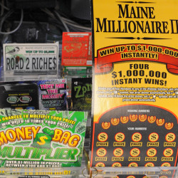 Saco man arrested after allegedly stealing lottery tickets