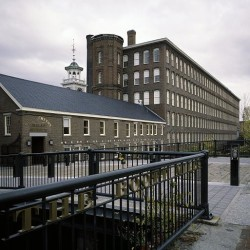 The Boott Cotton Mills complex in Lowell, Massachusetts, contains mills built from the mid-1830s to the early 20th century. Today, the restored mill complex houses the Boott Cotton Mills Museum, a part of Lowell National Historical Park.