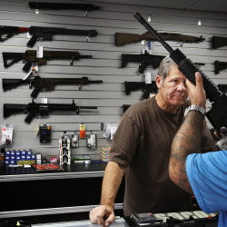 How does Maine balance public safety and gun rights of mentally ill?