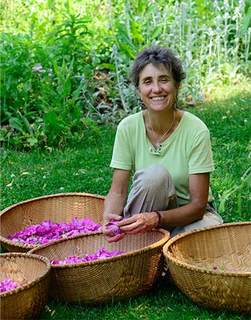 Deb Soule, the founder of Avena Botanicals