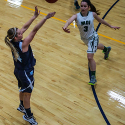 Guerrette scores 24 points, leads unbeaten Presque Isle girls past MDI 52-40