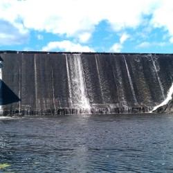 The Ellsworth Power House and Dam, sold in 2013 to Brookfield Partners, produces about 30,000 megawatt hours of electricity annually.