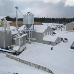 Forestry downturn hurts pellet mill