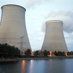Steam rises from the cooling towers of the Electricite de France nuclear power station at Nogent-Sur-Seine, France, last month.