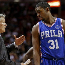 Sixers deny hiring ex-South Portland star Brett Brown as new head coach