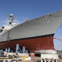 Defense bill includes $3.43 billion for destroyer work at Bath Iron Works