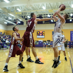 Fickett, Gilpin help undefeated Hampden boys basketball team top Bangor