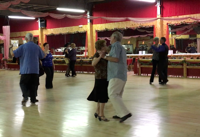 Dance at the Finn Hall in Monson