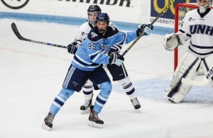 UNH goalie suspended after being charged with assault, resisting arrest