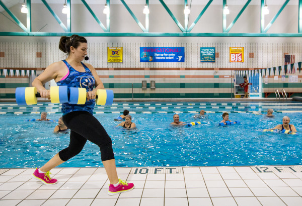 How Deep Water Exercise Is Helping Maine Seniors Stay Fit Next Bangor Daily News Bdn Maine