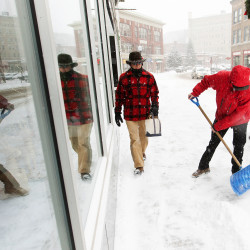 Major snowstorm headed for New England