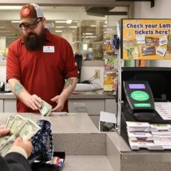 Kennebunk man waits until after snowstorm to claim $1 million lottery win