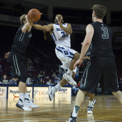 Pollard injured in UMaine men's basketball win over Fisher