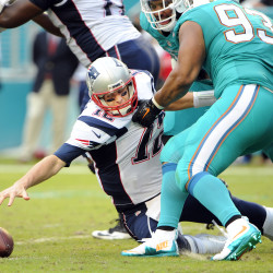Pats clinch AFC East title by beating Miami 23-16