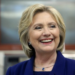 Hillary Clinton on TV may help Republicans