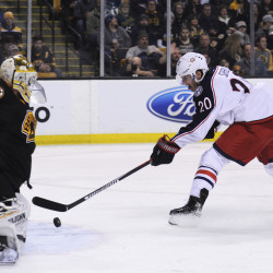 Bruins win 7th straight, top Blue Jackets in SO