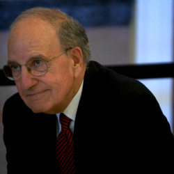 George Mitchell receives award for his work in Northern Ireland peace talks