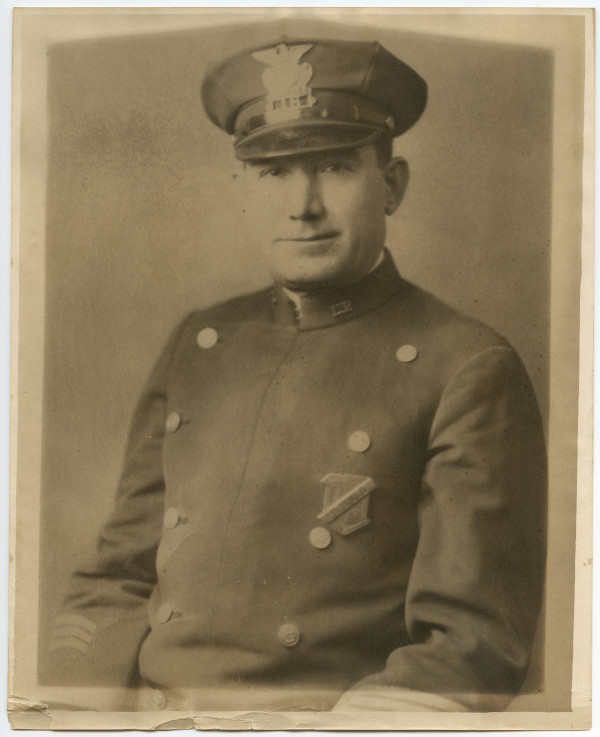 Anthony Petropulos came to the U.S. from Greece and, in 1915, he toured New England, speaking about the struggle for freedom in his homeland. While visiting Lewiston, he decided to stay. He became a police officer and served on the force for 30 years.