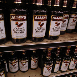 Allen's Coffee Brandy sales increased in '08