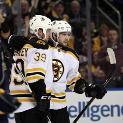Marchand, Rask rally Bruins by Devils