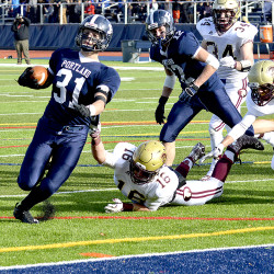 Former Bangor High standout Josiah Hartley decides to leave University of Maine football program