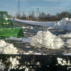 Snowplow crews digging out Down East towns