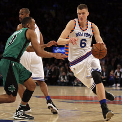 Anthony scores 28 as Knicks sink slumping Celtics