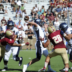 No. 14 UMaine football team hits bye week in full stride after routing Delaware