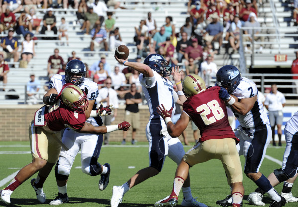 Umaine Football Team Faces Two Fbs Foes In Tough 2016 Schedule