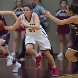 Ninth-seeded Cony girls knock off No. 1 Edward Little in 'A' quarterfinal