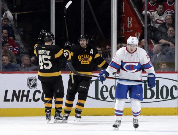 premium selection f9a24 b7f91 Pastrnak propels Bruins past Canadiens — Boston Bruins ...