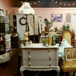 The interior of Ivy & Lace in downtown Bangor.