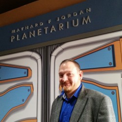 Shawn Laatsch is the new director at the Maynard F. Jordan Planetarium and the Emera Astronomy Center at the University of Maine.