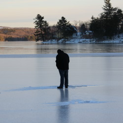 Warm weather, rains put damper on kickoff of Maine's ice fishing season