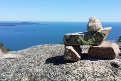 Embrace restraint at Acadia National Park, rock by rock